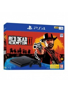 Consola PS4 Slim 1TB + Jogo Red Dead Redemption 2 Standard Edition