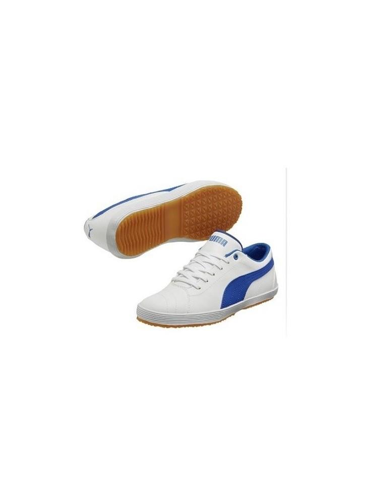 PUMA Serve Pro Jr- branco/ azul victoria