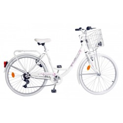 City bike Orbita Dame Blanche