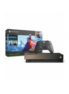 Xbox One X 1TB + Lannister (Battlefield Gold) - CYV-00178