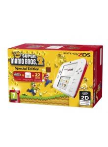 Nintendo 2DS HW Vermelha + New Super Mario Bros 2 (pré-instalado)