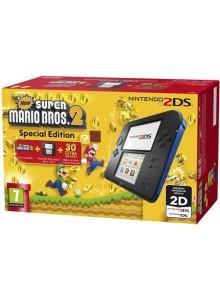 Nintendo 2DS HW Azul + New Super Mario Bros 2 (pré-instalado)