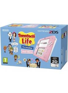 Nintendo 2DS HW Rosa + Tomodachi Life (pré-instalado)