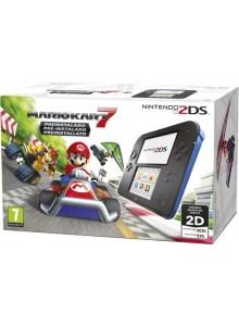 Nintendo 2DS HW Azul + Mario Kart 7 (pré-instalado)