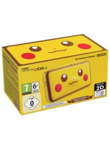 New 2DS XL Pikachu Edition
