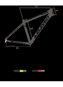 "Bicicleta VORTEX 27,5"" MAN 2.0"