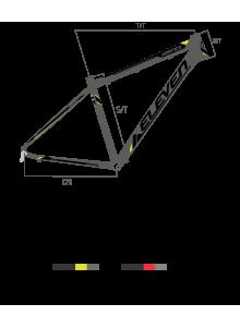 "Bicicleta VORTEX 29"" MAN 2.0"
