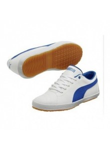 PUMA Serve Pro Jr- branco/ azul victoria